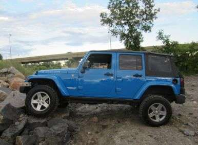 2012 Jeep Wrangler Unlimited Rubicon: Driving Impressions