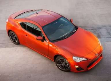 03.  The 2013 Scion FR-S Is Designed To Hit The Track