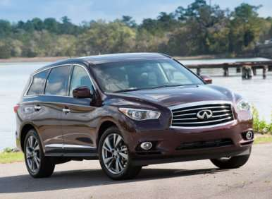 Infiniti FX, Infiniti EX Get New V6 Power