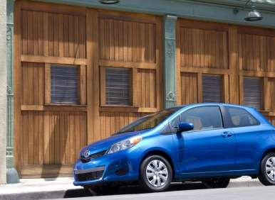 2012 Toyota Yaris 3-Door Hatchback Road Test and Review