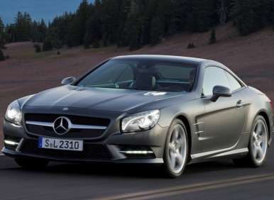 2013 Mercedes-Benz SL Breaks Cover Ahead of Schedule