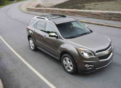 New V6, MyLink with Nav Among Highlights in 2013 Chevy Equinox
