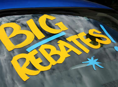 New Car Rebates and Incentives - April 16, 2009