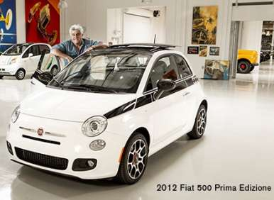 Jay Leno's Fiat 500 Nets $350,000 for Charity