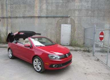 2012 volkswagen eos road test and review. Black Bedroom Furniture Sets. Home Design Ideas