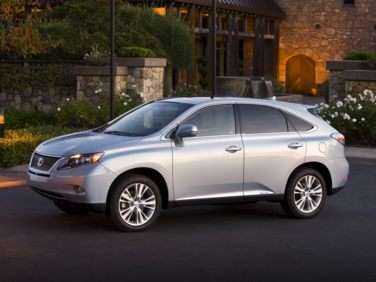 Best MPG Luxury SUVs for 2012: Lexus RX 450h