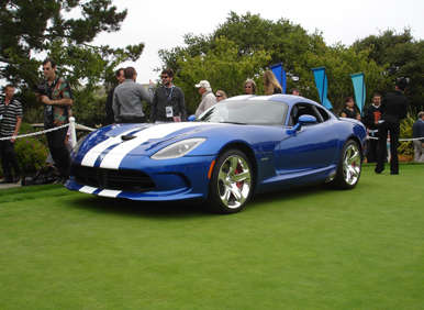 The Viper Vamps it Up at Pebble Beach
