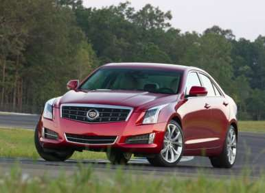 2013 Cadillac ATS Lauded as Esquire's 2012 Car of the Year