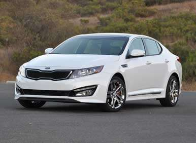 2013 Kia Optima Turbo Review: Pricing and Trim Levels