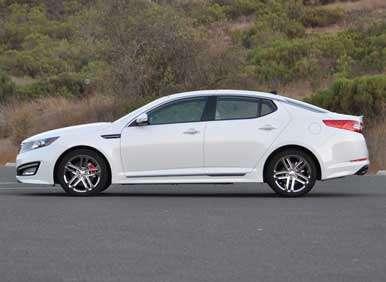 2013 Kia Optima Turbo Road Test And Review Autobytel Com