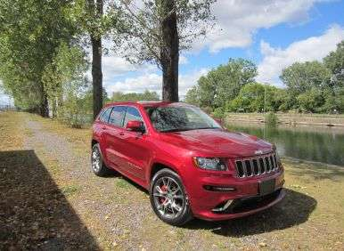 2012 jeep grand cherokee srt8 road test and review. Black Bedroom Furniture Sets. Home Design Ideas