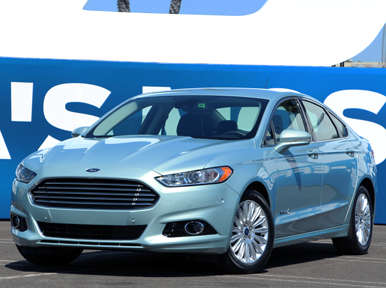 First Drive: 2013 Ford Fusion Hybrid