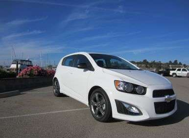2013 Chevrolet Sonic RS: First Drive