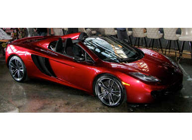 2013 McLaren MP4-12C Spider Makes Motor City Debut
