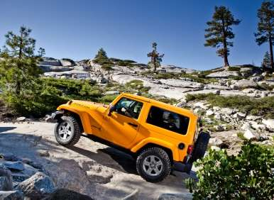 The Best 4x4 SUV For Rock-Climbing -  2012 Jeep Wrangler