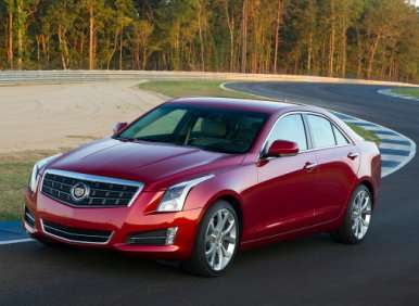 01.  The 2013 Cadillac ATS Is All-New