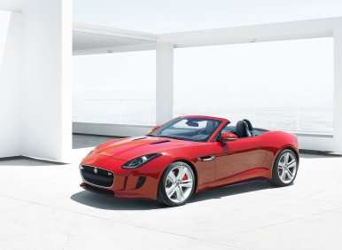 2014 Jaguar F-Type Unveiled in Paris
