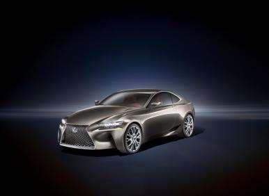 Lexus LF-CC Concept Provides Window Into the Future