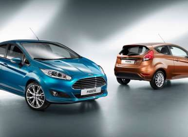 2012 Paris Motor Show: Redesigned Ford Fiesta Takes the Stage