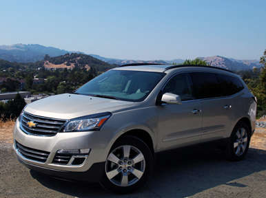 2013 Chevrolet Traverse Road Test & Review