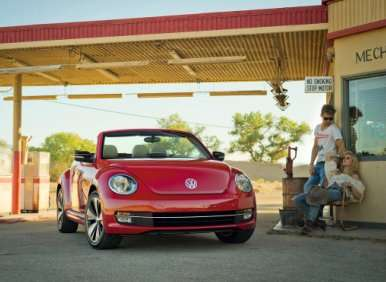 Topless One: 2013 VW Beetle Convertible Debuts