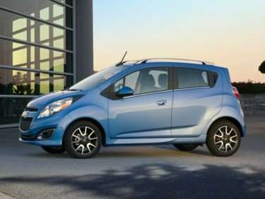2013 Chevrolet Spark Officially Rated at 38 MPG Highway, Priced Starting at $12,245