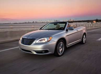 Four Seater Convertibles - 01 - 2012 Chrysler 200 Convertible