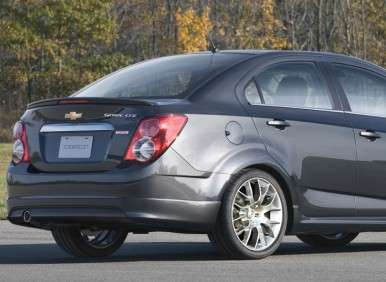 2013 Chevy Sonic Dusk: Highlights
