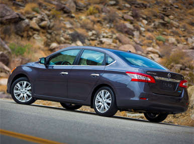 Competition: 2013 Nissan Sentra