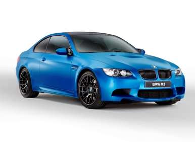 Chilling out with the 2013 BMW M3 Coupe Frozen Limited Edition