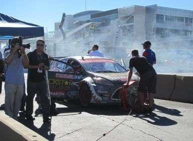 SEMA 2012 - Ride-Along With Brian Deegan In A 600 Horsepower GRC Ford Fiesta