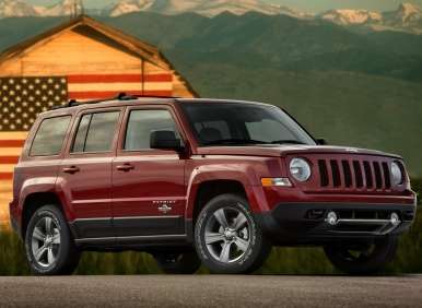 Chrysler Group Calls up the 2013 Jeep Patriot Freedom Edition
