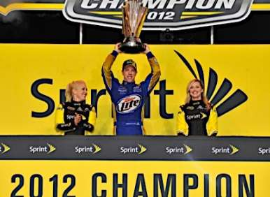 Keselowski, Dodge Charger Take 2012 Sprint Cup Title