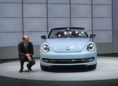 2013 Volkswagen Beetle Convertible Preview: LA Auto Show