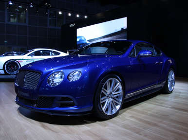 Bentley GT Speed Preview: LA Auto Show