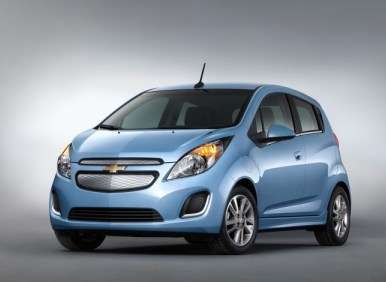 2014 Chevy Spark EV Preview: Los Angeles Auto Show