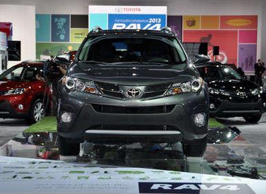 2013 Toyota RAV4 Preview: 2012 LA Auto Show