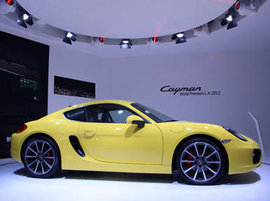 2014 Porsche Cayman Preview: Los Angeles Auto Show