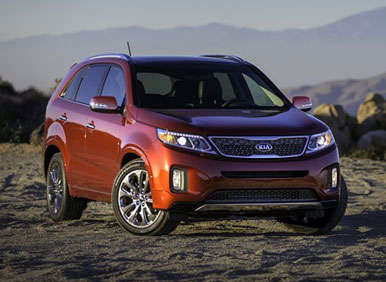 2014 Kia Sorento Preview: 2012 Los Angeles Auto Show