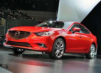 2014 Mazda6 Preview: 2012 LA Auto Show