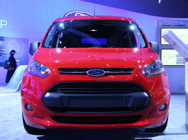 2014 Ford Transit Connect Wagon Preview: Los Angeles Auto Show