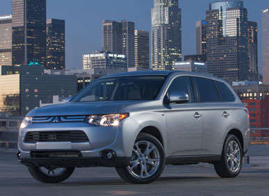 2014 Mitsubishi Outlander Preview: 2012 Los Angeles Auto Show