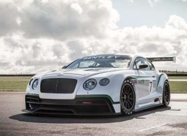 Bentley Continental GT3-R Is Road Legal
