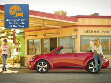 Autobytel 2013 Convertible of the Year: Volkswagen Beetle Convertible
