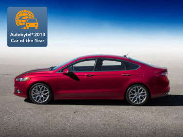 Autobytel 2013 Sedan of the Year: Ford Fusion