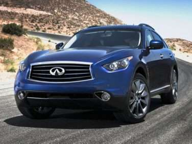 2013 Infiniti FX Launches at $44,300