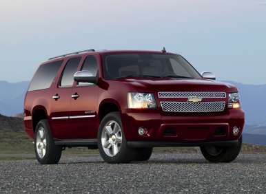 Best 8 Passenger Vehicles - 01 - 2013 Chevrolet Suburban