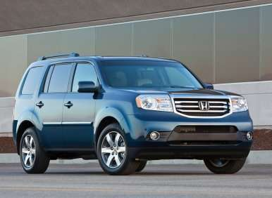 Best 8 Passenger Vehicles - 02 - 2012 Honda Pilot