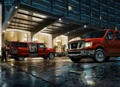 Best 8 Passenger Vehicles - 09 - 2012 Nissan NV