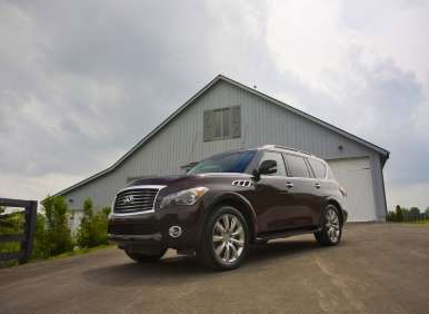 Best 8 Passenger Vehicles - 05 - 2012 Infiniti QX56